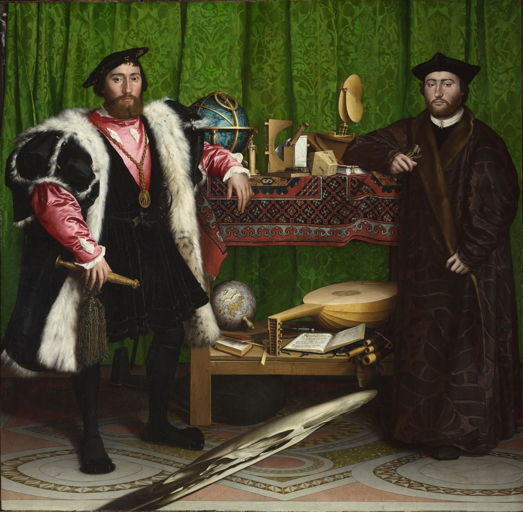 HANS HOLBEIN THE YOUNGER - THE AMBASSADORS (1533), © THE NATIONAL GALLERY, LONDON