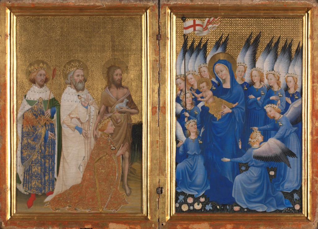 ENGLISH OR FRENCH (?) - THE WILTON DIPTYCH (c. 1935 - 1939), © THE NATIONAL GALLERY, LONDON