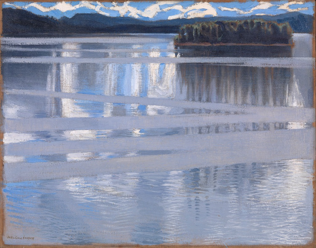 AKSELI GALLEN-KALLELA - LAKE KEITELE (1905), © THE NATIONAL GALLERY, LONDON